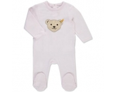 Steiff Girls Baby Overall barely pink - Mädchen