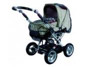 BabyPlus Insektennetz Kinderwagen geschlossen, schwarz