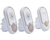 Motorola MBP 8-2 Babyphone | Wireless DECT-Babyfon | Mit Nachtlicht | Zur Audio-Überwachung | Mit 2 Eltern-Einheiten