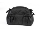 Wickeltasche 'Tasche mit Wickelauflage' 1801-03 rund von UNITED-KIDS, diverse Farben, Farbe:Schwarz