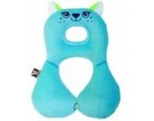 Rotho Babydesign 50001 0050 - Travel Friends Nackenstütze 1-4 Jahre, Katze