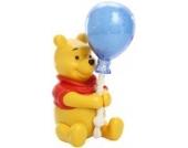 TOMY Nachtlicht Sternenhimmel Winnie Puuh Ballon-Nachtlicht mehrfarbig - Einschlafhilfe für Babys mit Musik - vereint Babyspieluhr und Schlummerlicht - ab 0 Monate
