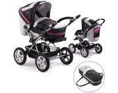 Chic 4 Baby Kinderwagen Viva mit Schwenkschieber (Fuchsia) [Kinderwagen]