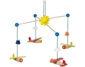 Heimess Holzmobile Flugzeuge [Babyspielzeug]