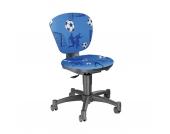 Drehstuhl Ergokid 15 Jet Soccer blau