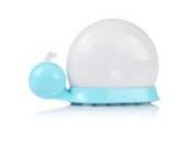 LAGUTE Wiederaufladbar Schnecke LED-Nachtlicht Ledlampe Stimmungslicht Tischlampe mit 7Farben Farbwechsel für Kinder Baby Kids Nachtlicht Schlafzimmer Kindergeschenk mit USB-Ladekabel und Saugnapf (Blau)