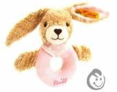 Steiff Hoppel Hase Greifling 237591 rosa