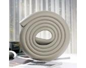 Tinksky 2 M L-förmige verdicken Baby Sicherheit Tabelle Kantenschutz Corner Guard Kissen Anti-Kollisions-Stoßstange Streifen (grau)