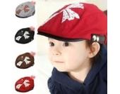 Querdruck Kinder Punk Schirmmütze Kappe aus Baumwolle Leiter Casquette BaseballMütze Unisex (grau)