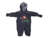Baby Schneeanzug mit Kapuze, Autos, Beep Beep (3-6 Monate (62)) (Dunkelblau)