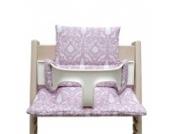 Blausberg Baby - Sitzkissen Kissen Polster Set für Stokke Tripp Trapp Hochstuhl - Oxford Rosa
