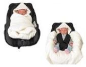 Hobea Babysitz-Decke (weiß)