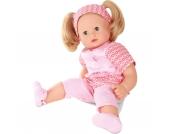 Babypuppe Maxy Muffin, mit Haarbürste, blonde Haare 42cm