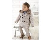 SWEET MOMENTs Winter-Jacke Mantel LUCA beige Gr��e 62-86