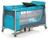 4Baby Moderno Kinderreisebett Blau
