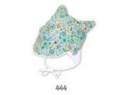 Sterntaler Baby - Mädchen Mütze Kopftuch 1451512, Gr. 43 cm, (türkis 444)