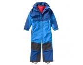 VAUDE Kinder Schneeanzug Kids Suricate Overall II, blau Gr. 110/116