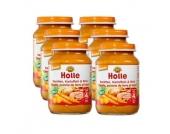 Holle Bio Karotten mit Kartoffeln und Rind 6 x 190 g - Gr.ab 4 Monate