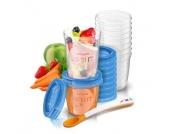 Philips Avent Aufbewahrungssystem für Babynahrung SCF721/20 10 x 240 ml, 10 x 180 ml ab 6 Monate
