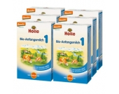 Holle Bio 1 Anfangsmilch 6 x 400 g