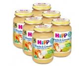 HIPP Bio Frucht & Getreide Apfel-Traube mit Reis 6 x 190g