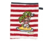 Playshoes 340084- Kinder Waschlappen Waschhandschuh mit Piratenmotiv