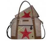 Stapelgoed Thougher Wickeltasche L- Sand - beige