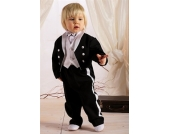 SWEET MOMENT`s Nr. 207.1 EDLER Taufanzug Smoking Anzug-Set 6-teilig MARINE Gr��e 62-104