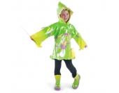 KIDORABLE Regenjacke Regenmantel ELFE FEE New fairy Gr��e 80-134