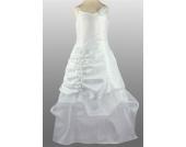 SWEET MOMENTs Festkleid Kleid mit Stola zur Kommunion Taufe Hochzeit WEISS / IVORY 4-16 Jahre 110-176