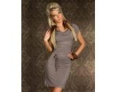 Feinstrick-Minikleid / Kleid in CINDER Gr��e XS S M