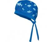 Playshoes Boys UV-Schutz Kopftuch Hai marine - blau - Jungen