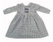 Tavo 4447997457 - Kleidchen mit langem Ärmeln, Größe 74, blau