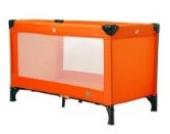 Reisebett Holiday 805 von UNITED-KIDS,verschiedene Designs, Farbe:Orange