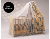 reer 74856 - Insektenschutz für Kinderbetten schwarz