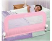Summer Infant Einzelnes Bettgitter zum Herunterklappen, Rosa