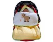 Schlafsack/ Kuschelsack/ Fußsack von Luxus Prestij in der Farbe Gelb