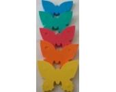 Auftriebshilfe Schwimmbrett Schwimmspaß Schmetterling 390x300x38mm ROT NEU&Original von Babysplash