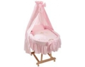 Easy Baby 485-82 Stubenwagenset Sleeping Bear rose