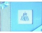 Junge Jungen Blau Baby Album Fotoalbum Erstlingsausstattung Erstausstattung Geschenk Babyalbum