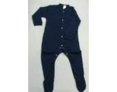 BabywearUK Schlafanzug - Marineblau - 6-12 Monate - British Made