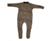 BabywearUK Schlafanzug Leopardenprint - 18-24 Monate- British Made