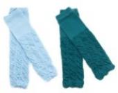 2× Baby Socken Cotton Leggings Kinder Knieschützer Mädchen Jungen Legs Beinstulpen