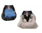 Hobea Babysitz-Decke (klein, Blau)