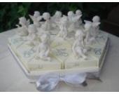 Gastgeschenke Torte Engel zur Geburt Taufe Kommunion Hochzeit GG0039