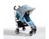 Sonnenschutz Sonnendach Sonnensegel Sonnenverdeck Sonnette® single UPF 80+ für Kinderwagen Daisy turquoise