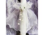Kerzenrock für Taufkerze Kommunionkerze Junge Mädchen 3-5 cm Durchmesser T-148