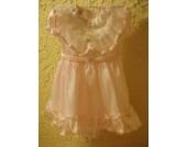 Traumhaft schönes Baby - / Kleinkinder Festkleid Minigirl Größe 5 für Kommunion ,Konfirmation oder Hochzeit