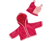 Bayer Design Kleidungsset Jacke mit M�tze 40-46 cm (Pink) [Kinderspielzeug]