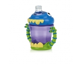 Nuby - Trinklernflasche Monsters, 210 ml